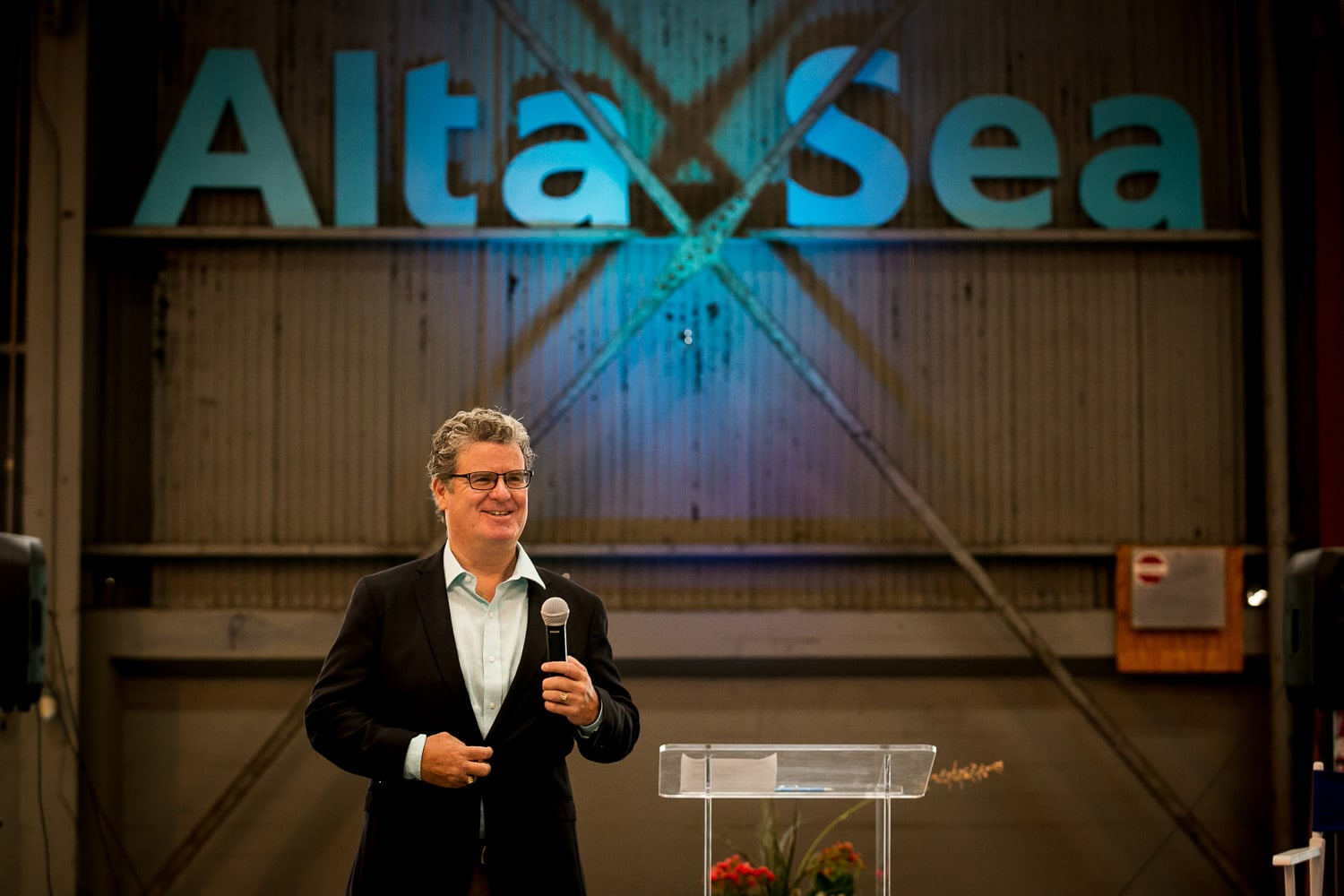 Photo of Tim McOsker of AltaSea in San Pedro California