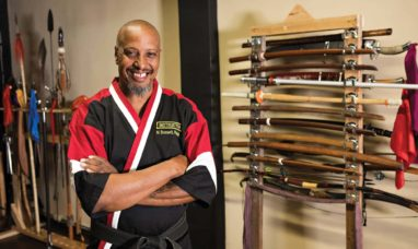 Photo of Marcus Bossett of Budo Pavilion in San Pedro California. (photo: John Mattera Photography)