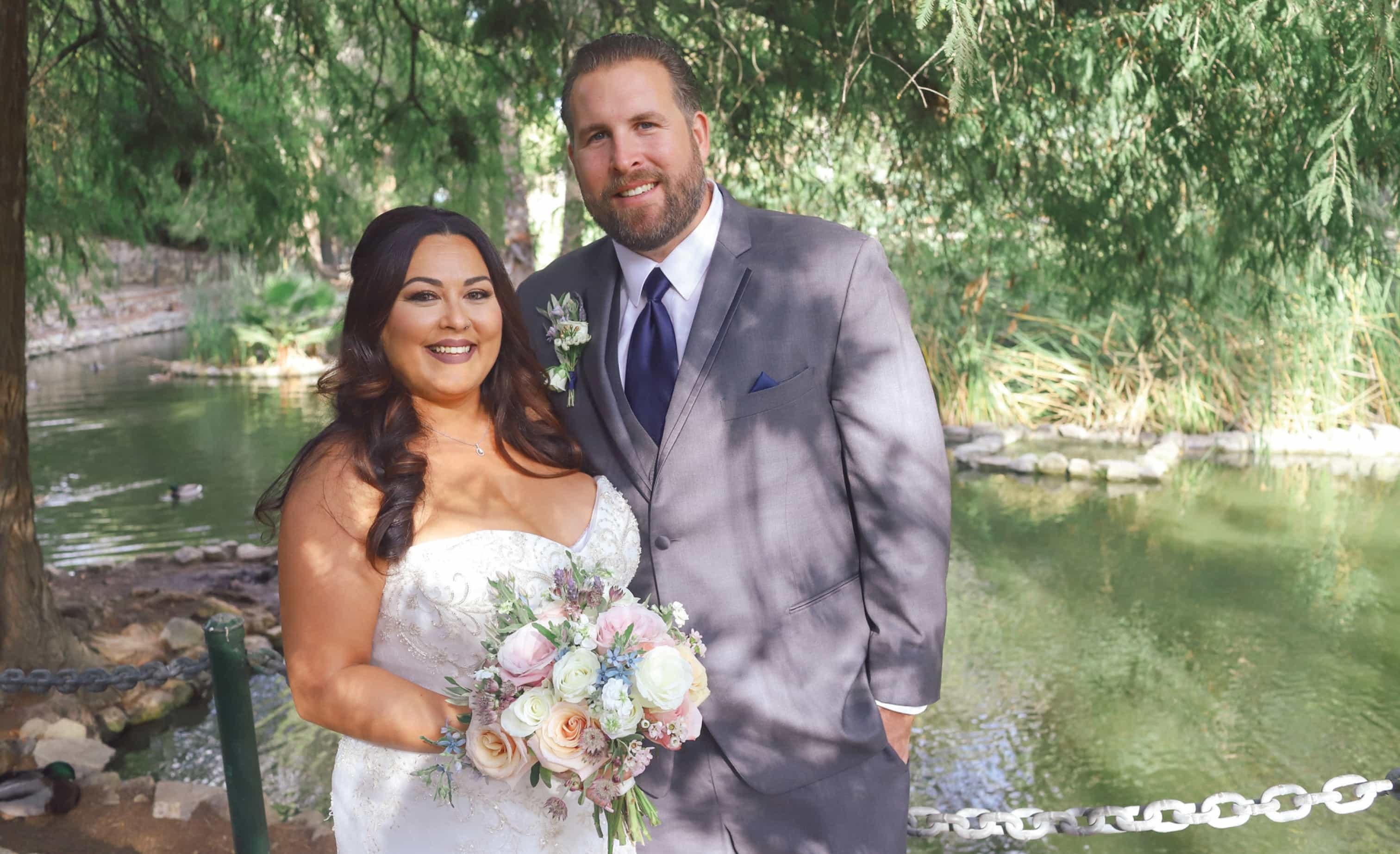 Photo of Wedding of Monique and Andrew Ursich in San Pedro California (Photo by Kelly Huljev)