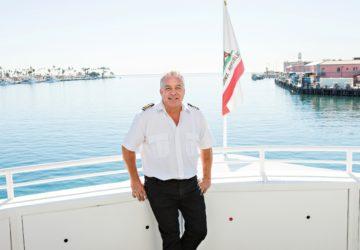 Photo of Dan Salas of Harbor Breeze Cruises in San Pedro California (photo by John Mattera Photography)