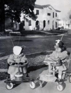 Baby photos of a young woman named Christina Di Leva from San Pedro California. (photos: Romee Collection)