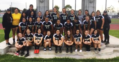 Photo of San Pedro High School varsity girls soccer team 2018-19 (Photo by Jamaal K. Street)
