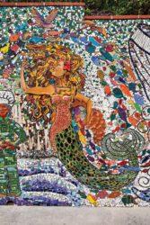 Artist Julie Bender's mosaic in San Pedro California. (photo by John Mattera Photography)