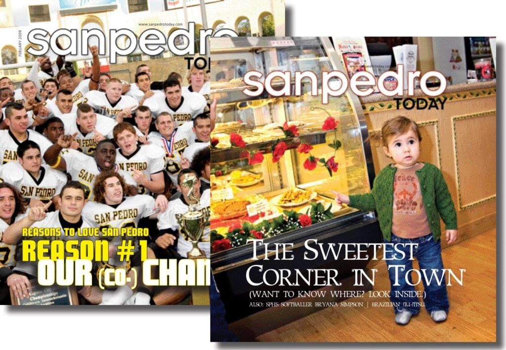 San Pedro Today magazine covers
