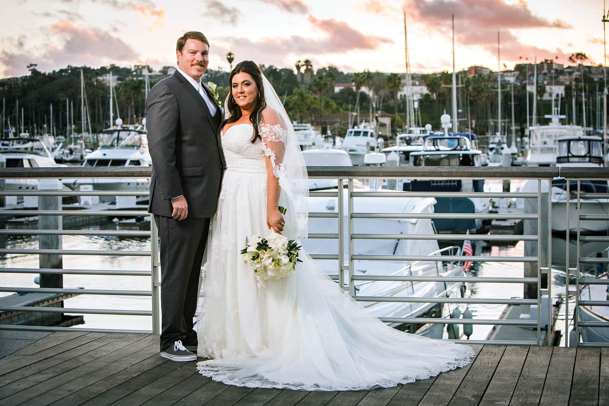 Photo of Alexis and Matthew PRIDEAUX wedding in San Pedro california