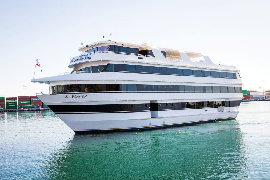 Photo of the cruise ship Sir Winston of San Pedro California