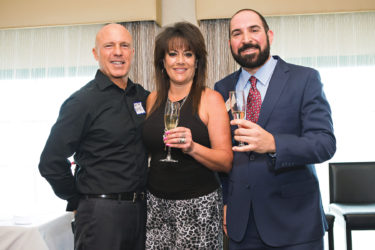 Honorary Mayors of San Pedro Domenic Costa, Pam Costa, and John Bagakis